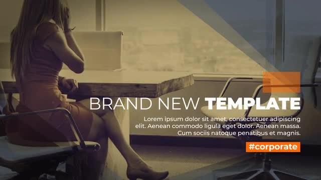 Elegant Corporate Slideshow 4K: After Effects Templates