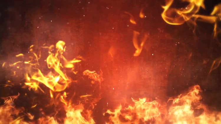 Flames Rising: Stock Motion Graphics