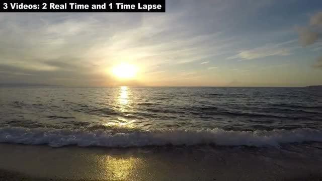 Sea Sunset Pack: Stock Video