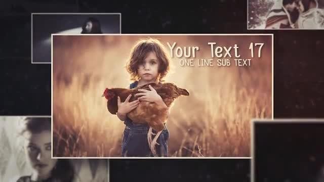 Memories Slideshow // Dust Opener: After Effects Templates