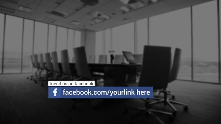 Social Lower Thirds: After Effects Templates