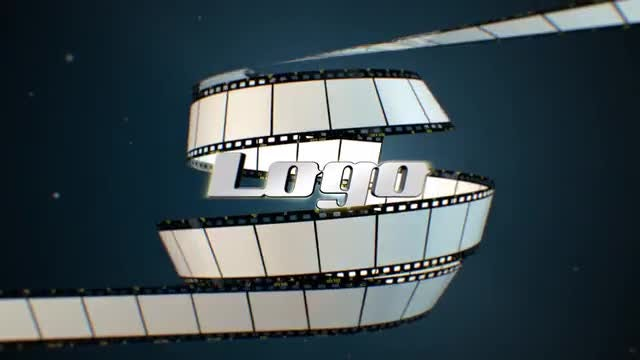 Film Strip Logo Reveal: After Effects Templates