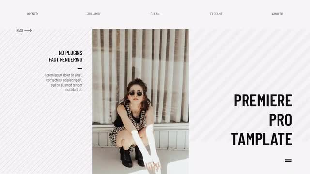 Fashion Slideshow: Premiere Pro Templates