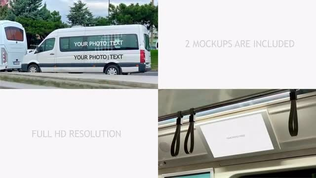 Mockup Of City Advertising Vol 5 | Car &: After Effects Templates
