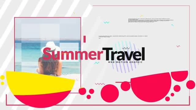 Summer And Travel: After Effects Templates