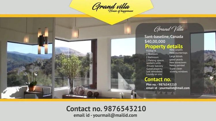 Real Estate Presentation: Premiere Pro Templates