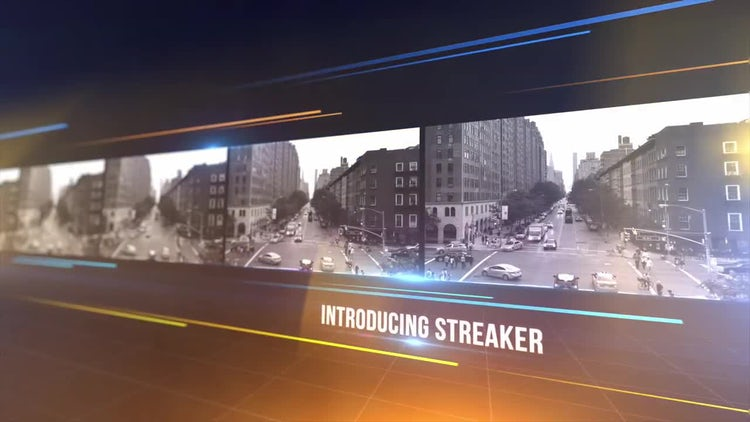 Streaker: After Effects Templates