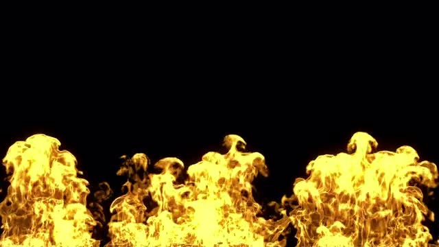 Wall Of Fire: Stock Motion Graphics