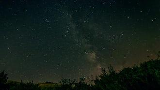 Milky Way: Stock Video