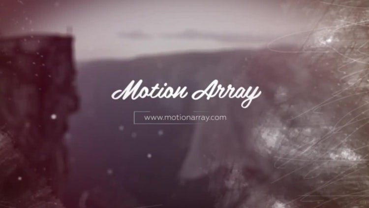 Parallax Slideshow Opener: After Effects Templates