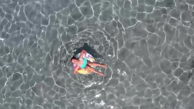 Hvar Island Beach: Stock Video