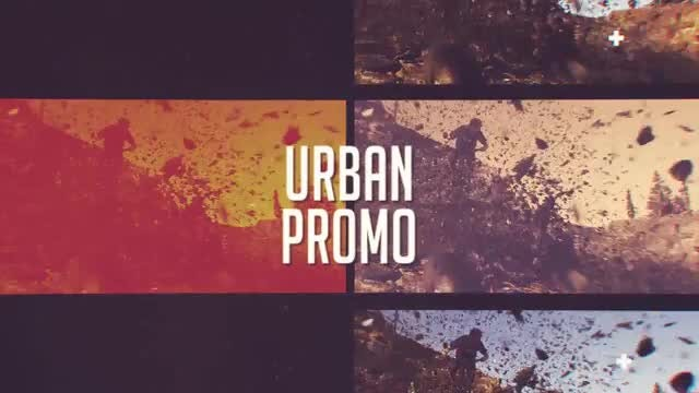 Dynamic Urban Glitch Opener: After Effects Templates