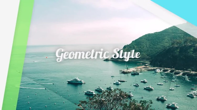 Geometric Slides: After Effects Templates
