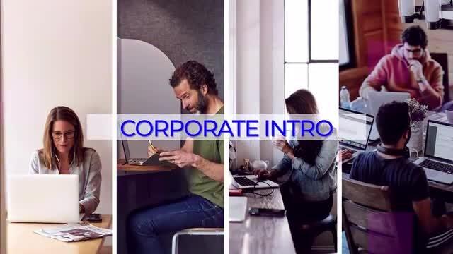 Fast Corporate Intro: Premiere Pro Templates
