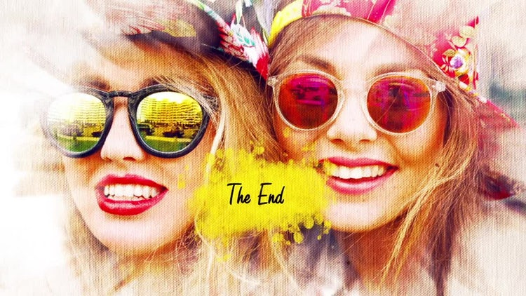 Colored Ink: After Effects Templates