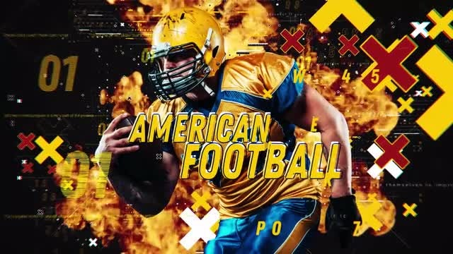 American Football: After Effects Templates