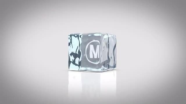 Ice Cube Logo Intro: After Effects Templates