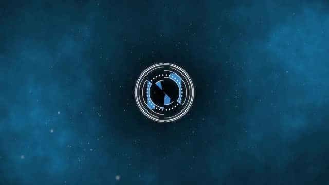 Space Logo Reveal: After Effects Templates