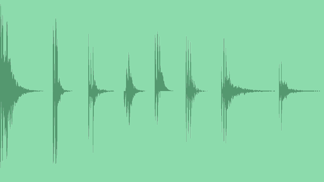 Flat Infographic Sounds: Sound Effects
