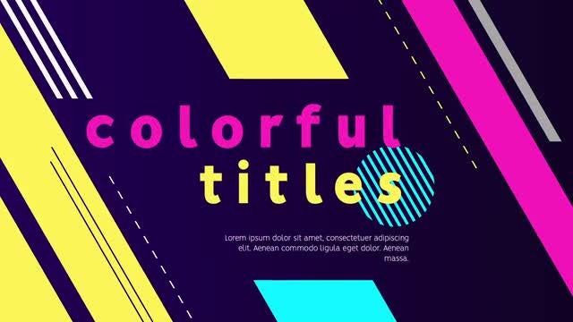 Trendy Typography: After Effects Templates