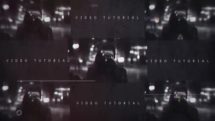 Glitchy Promo: After Effects Templates