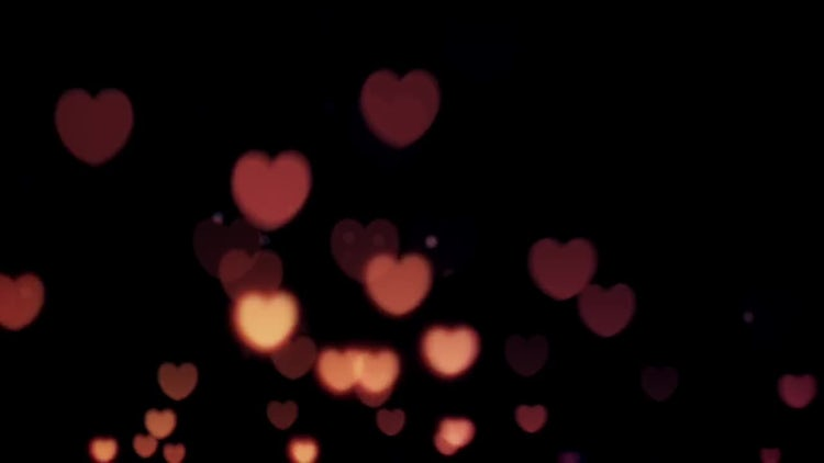 Colorful Hearts: Stock Motion Graphics