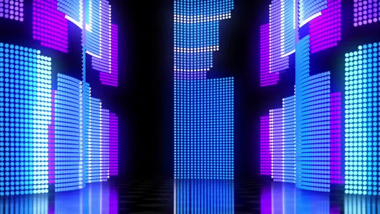 LED Wall 01: Stock Motion Graphics