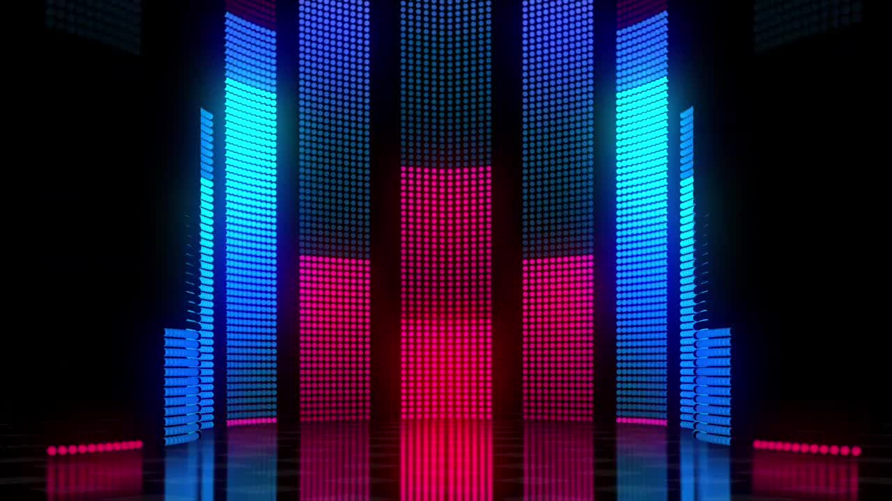 Dj Led Curtain Lights Starvision Led Vision Display