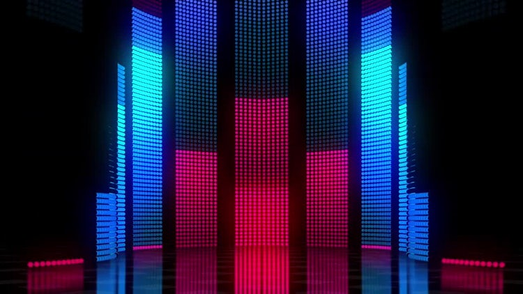 LED Wall 03: Stock Motion Graphics