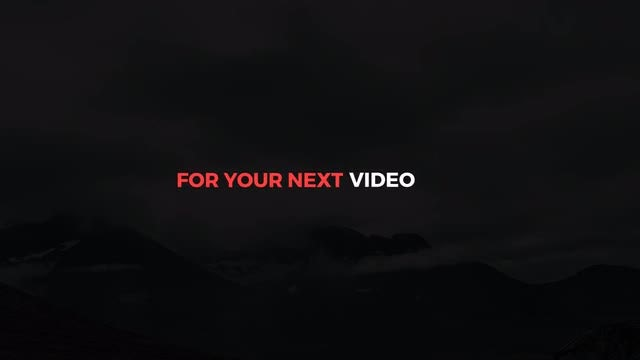Minimal Shift Titles: After Effects Templates