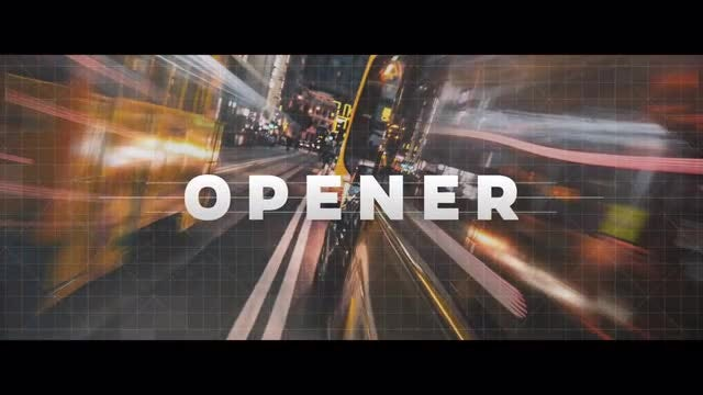 Logo Reveal - Strips Opener: After Effects Templates