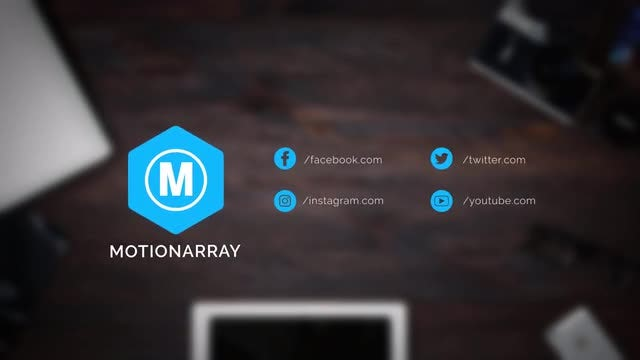 Social Logo Reveals v2: After Effects Templates