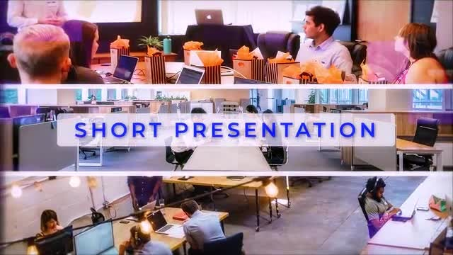 Fast Corporate Intro: After Effects Templates