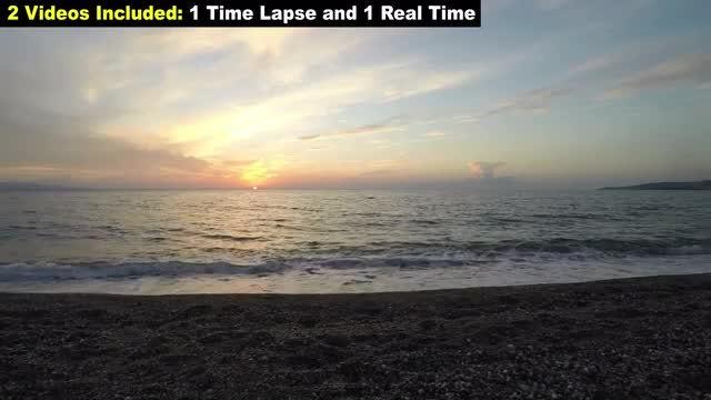 Ocean Sunset Package: Stock Video