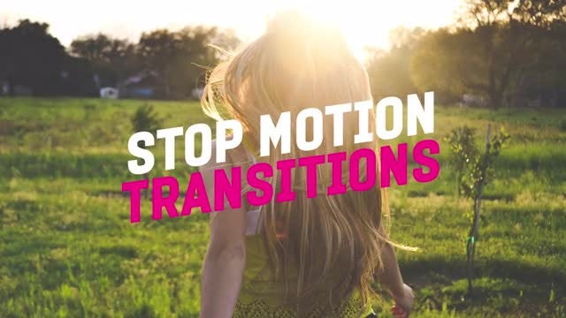Stop Motion Transitions: Premiere Pro Presets