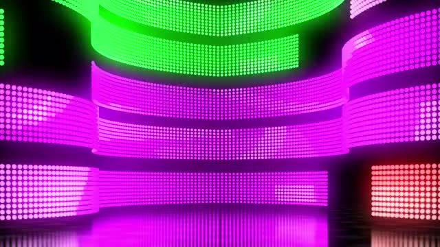 LED Wall 04: Stock Motion Graphics