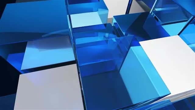 Looped Cubic Background: Stock Motion Graphics