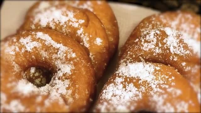 Sugary Doughnut: Stock Video