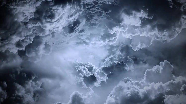 Dark Clouds: Stock Motion Graphics