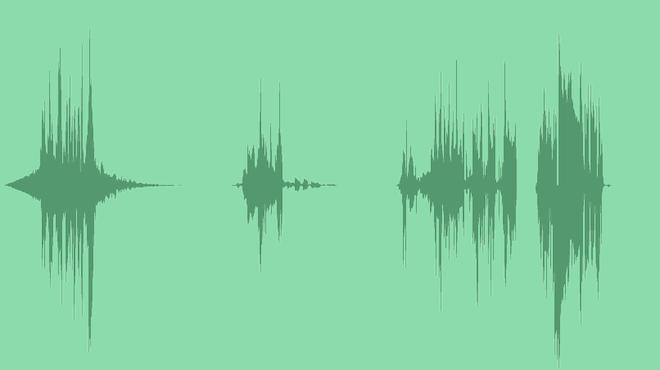 Digital Elegant Glitch Logo: Sound Effects