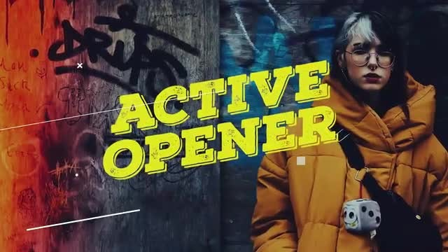 Glitch Hip-Hop Promo: Premiere Pro Templates