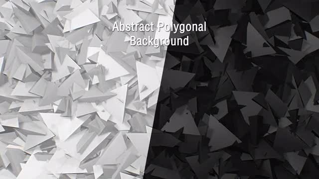 Abstract Polygonal Backgrounds: Stock Motion Graphics