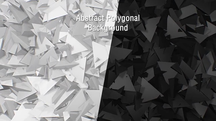 Abstract Polygonal Backgrounds: Motion Graphics