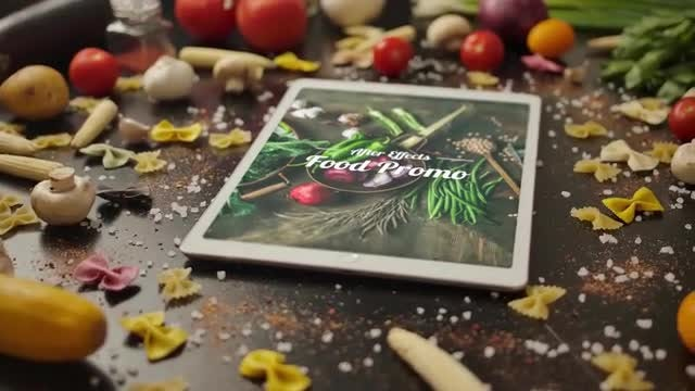 Food Promo: After Effects Templates
