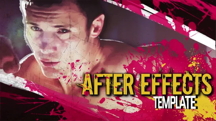 Intro Freeze Frame: After Effects Templates