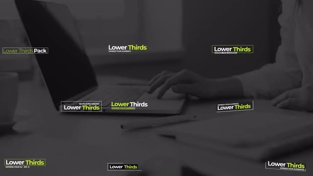 Lower Thirds Pack V2: After Effects Templates