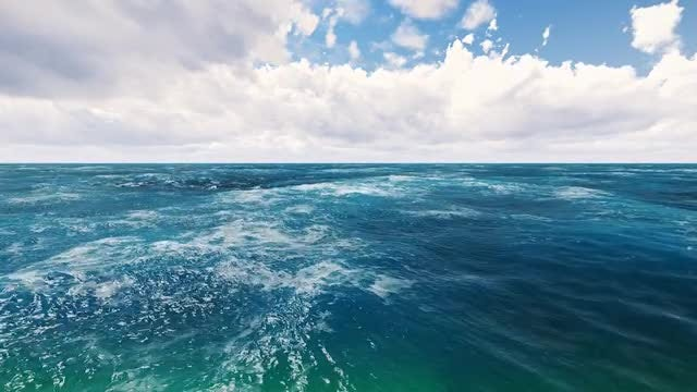 Endless Ocean: Stock Motion Graphics