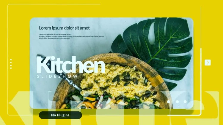 Kitchen Slideshow: After Effects Templates
