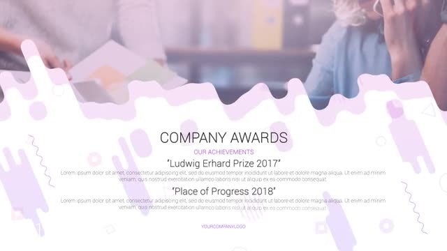 Company Promotion: After Effects Templates
