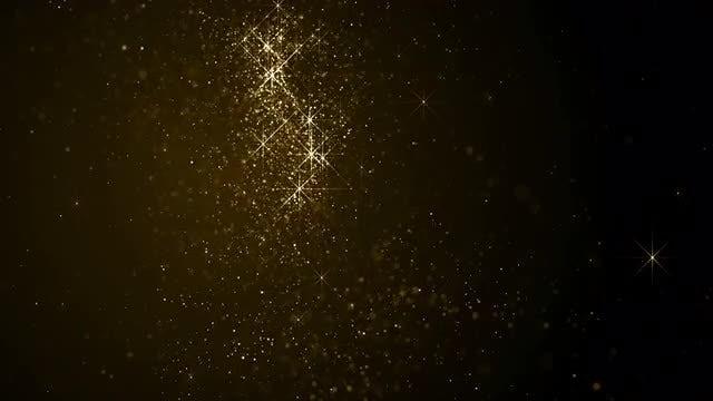 Glittering Stars Loop: Stock Motion Graphics
